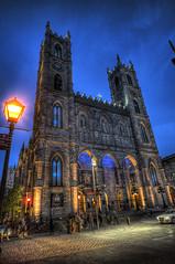 Église Notre-Dame, Montreal (CloudPhotoz) Tags: église notre dame montreal montréal downtown centre ville city street rue