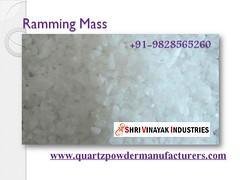 Ramming Mass Supplier (quartzvinayak) Tags: talc talcum quartz sand grit lumps rammingmass feldspar calciumcarbonate dolomite mica powder manufacturer supplier exporter india