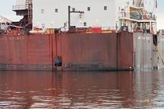 DSE_3096 (pezlud) Tags: 20180617 duluthharbor americanspirit groundedship shipaground ship grounded aground stoppedonly30ftfromseawall