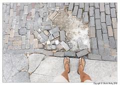 Road Damage (wesjr50) Tags: canon 5ds ef1740mm f4l usm street selfie tan people photography natural light bricks