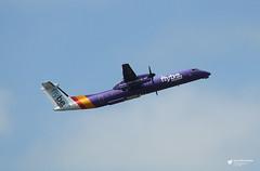 G-JEDP de Havilland Canada DHC-8-402 Dash 8, flybe, Edinburgh Airport, Edinburgh, Scotland (Kev Slade Too) Tags: gjedp dehavillandcanada dhc dhc8 dash8 flybe be294 spiritofbelfast egph edinburghairport edinburgh scotland