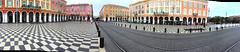Place masséna - Nice (French Riviera) (Chris, photographe de rue niçois (Nice - French R) Tags: france frenchriviera côtedazur nice panorama landscape urban city ville