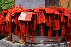 Wishing Plaques (YY) Tags: gansu zhangye matitemple grottoes grotto temple 肃南裕固族自治县 甘肅 馬蹄寺 張掖 sunanyugurautonomouscounty