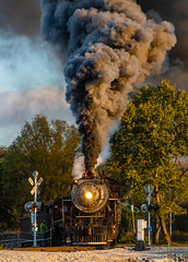 SOU #630 (Kyle Yunker) Tags: southern tennessee valley railroad museum 280 630 steam locomotive engine plume smoke train railway tvrm