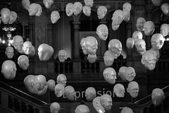 Kelvingrove Museum (kevan_cooke) Tags: sophiecave floating art kelvingrove scotland glasgow heads faces