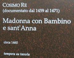 20170525 Italie Gênes - Musée Diocesain - Cosimo Re-001 (anhndee) Tags: italie italy italia gênes genova musée museum museo musee peintre peinture painting painter