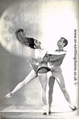 Margot Fonteyn and Robert Halpmann 1944. (albutrosss) Tags: ballet dancing albutross margot helpmann