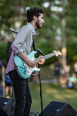 C58R2565 (Nick Kozub) Tags: justin saladino band laval zones musicals festival concert gig live music spectacle fender gibson guitar ruckus fun photography canon day festive supro amp heat bassface evening 1d x 85 f12 ii l