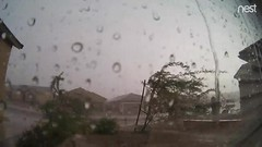 SW Monsoon: Extreme Downpour (RT) (northern_nights) Tags: video realtime downpour intenserain vail arizona nest securitycamera