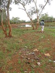 Someone's campsite (spelio) Tags: australia remote wa western june 2011 pilbara travel