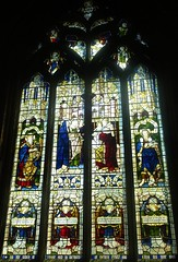 [64722] St Denys, Sleaford : Peake Window (Budby) Tags: sleaford lincolnshire church window stainedglass