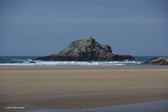 3K006290a_C (Kernowfile) Tags: crantock cornwall beach rock sea water waves