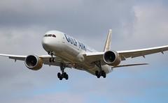 A9C-FC Boeing 787-9 Dreamliner Gulf Air (R.K.C. Photography) Tags: a9cfc boeing 7879 b787 dreamliner gulfair gf gfa bahrain aircraft aviation airliner closeup london heathrow unitedkingdom uk england londonheathrowairport lhr egll canoneos100d