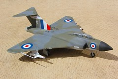 Chematic 1.72 Javelin FAW9 XH766-6 (jonf45 - 4 million views -Thank you) Tags: chematic 172 gloster javelin faw9 xh766 e 64 squadron royal air force plastic plane model aircraft kit jet