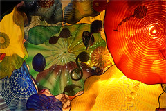 Persian Ceiling (leuntje) Tags: seattle washington usa dalechihuly persianceiling chihulygardenandglass glassart ceiling