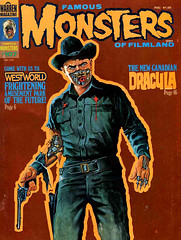 Famous Monsters #107 (1974) (gameraboy) Tags: vintage famousmonsters 107 1974 westworld 1970s android yulbrynner