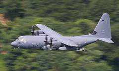Low Level (Treflyn) Tags: panned shot pan usaf lockheed mc130j hercules commando ii 35786 corris corner mach loop wales low level lfa7
