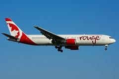 C-GHLK (Air Canada rouge) (Steelhead 2010) Tags: aircanada rouge creg yyz cghlk boeing b767 b767300er