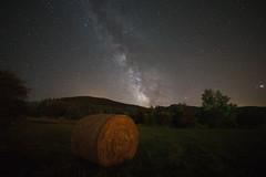 Pyreneeën France, Just rolled up :) (gipukan (rob gipman)) Tags: 177a2505 5dmarkiv samyang14mm milkyway field france pyreneeën high clear stars