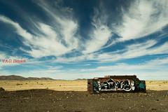 El cementerio de trenes, Uyuni, Potosí, Bolivia (Vinícius A.O. Dittrich) Tags: paisagem paisaje landscape potosí bolivia altiplanoboliviano andes deserto desierto desert vaodittrich américadosul américadelsur southamerica nature natureza naturaleza