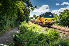 Liskeard to Coombe.... (Rails West) Tags: colas70 cornishbranches cornwall locations looebranch moorswatercement cement class70