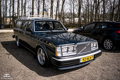 Volvo 240 (TimelessWorks) Tags: time less works timeless timelessworks tw auto car bil vehicle automobile automotive volvo swedish safe autox autocross track cone cones trackday racing race attack 850 t5 t4 d5 r t5r awd s60 v60 v70 v90 s70 s90 940 240 140 142 242 340 480 netherlands lelystad midlands circuit racecar becauseracecar c70 modified tuned aftermarket sunny summer spring day