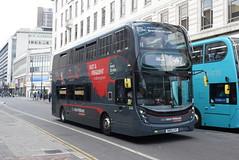 NXWM 6740 @ Corporation Street, Birmingham (ianjpoole) Tags: national express west midlands alexander dennis enviro 400mmc sn15lff 6740 working platinum route 997 lower bull street birmingham walsall st pauls bus station