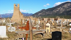 Taos Pueblo, New Mexico, USA (rociomcoss) Tags: taos pueblo new mexico usa southwest nm adobe native newmexico newmexicotrue weaving santafe