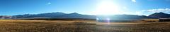 An Afternoon with Tso Kar - A Panorama (pallab seth) Tags: tsokarlake lake ladakh jammukashmir india autumn landscape mountains himalayas highaltitudelake morning wetlandconservationreserve nature naturereserve panorama