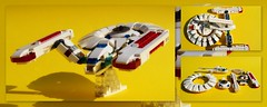 lego Star Trek Enterprise . (peter-ray) Tags: lego star trek enterprice moc space peter ray samsung giocattolo toy shi fi fantascienza ship ufo movie nx2000