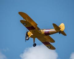 Stearman_117758 (gpferd) Tags: 2xteleconverter airplane boeingn2s clouds stearman vehicle vintageairplane