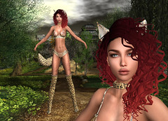 LuceMia - The Darkness Monthly Event (2018 SAFAS AWARD WINNER - Favorite Blogger - MISS ) Tags: thedarknessmonthlyevent adorez hair essence kittycat originals black red lisiane sl secondlife mesh fashion creations blog beauty hud colors models lucemia