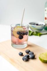 Blueberry-mojito-5 (thetortillachannel) Tags: recipe drink drinks cocktail cocktails blueberry mojito mojitos tasty delicious refreshing
