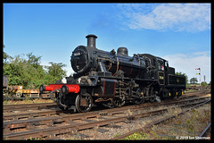 No 78018 5th Aug 2018 Great Central Railway End of BR Steam Gala (Ian Sharman 1963) Tags: no 78018 5th aug 2018 great central railway end steam gala class 2mt 260 station engine rail railways train trains loco locomotive passenger heritage line gcr rothley brook quorn woodhouse