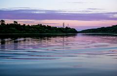 lilac-blue twilight (marinachi) Tags: lilac light landscape twilight river blue sundaylights waterscape water watermove smaleonsaturday
