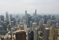 USA 2018 (jaffa600) Tags: unitedstates unitedstatesofamerica usa america chicago cityofchicago illinois stateofillinois thewindycity windycity willistower searstower skydeck glassbox chicagoledge skyscrapers skyscraper skyline veiwpoint veiw cityveiw secondtallest building buildings architecture cityscape lakemichigan 360 360chicago chicago360 johnhancock johnhancockobservatory cloud clouds lowcloud mist misty city johnhancocktower cityview view fog concretejungle