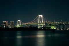 Rainbow Bridge (temacatz) Tags: night bridge xt20 東京港連絡橋 fuji city xf35 fujifilm rainbowbridge minatoku tōkyōto japan jp