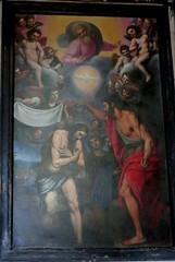 20170525 Italie Gênes - L'Eglise de Jésus - Domenico Passsignano (1560-1636) - Le baptême de Jesus (anhndee) Tags: italie italy italia gênes genova church église eglise peintre peinture painting painter