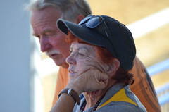 2018-08-04 (19) Peggy at Laurel Park (JLeeFleenor) Tags: photos photography md maryland marylandhorseracing laurelpark fans people owners horsepeople outside outdoors