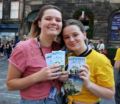 Sell 96 Nowt Queer as Folk (Terry Moran aka Tezzer57) Tags: edinhurgh scotland uk girl theroyalmile promote promotion summer2018 nowtqueerasfolk