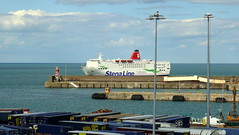 18 08 10 Stena Europe arriving Rosslare (7) (pghcork) Tags: stenaline ferry ferries carferry stenaeurope ireland wexford rosslare ships shipping