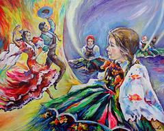 España Polonia (#Jarama) Tags: españa polonia spain polska folk