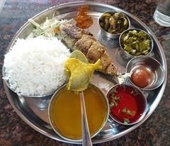 Fish Curry Rice Thali (Joegoaukfishcurry2) Tags: joegoauk goa fish