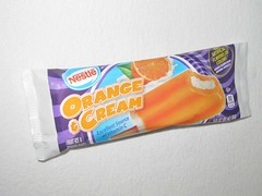 Nestle Orange and Cream Bar (Pest15) Tags: nationalcreamsicleday nestleorangeandcreambar creamsicle frozentreat nestle dessert orange cream treat