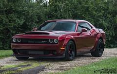 Dodge Demon (scott597) Tags: dodge demon octane red supercharged hemi drag racing muscle car kleins detailing ohio mopar
