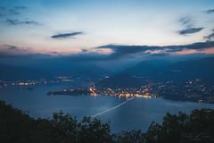 view from the Sasso del Ferro - blue hour (T. Kaiser) Tags: sonyilce7rm3 lagomaggiore fe1635mmf4zaoss italien italy sony lavenomombello lombardei thilokaiserphotography