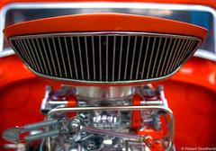 Geordi La Forge has a new Ride (Robert Streithorst) Tags: airbreather carshow hotrod intake louisvilleky orange robertstreithorst