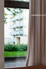 Kosmetiksalon Babette pt.2 (Nannile) Tags: subtle nikon d700 85mm berlin travel green kosmetiksalon babette karlmarxallee drape curtain