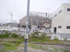 The new city hall (しまむー) Tags: panasonic lumix gx1 g 20mm f17 asph natural train tsugaru free pass 津軽フリーパス