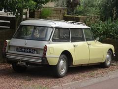 1969 Citroën ID 20 Break (harry_nl) Tags: netherlands nederland 2018 everdingen citroën id 20 break dm8496 sidecode1 import icar